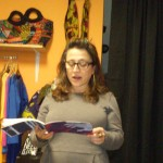 Rachel Levitsky reading photo by Paticia S. Jones