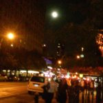 9-16-2016 Harvest Moon over w. 23rd St. Chelsea