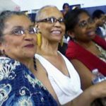 Brenda Conner Bey in the middle.