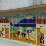 Riverwalk Tile mural
